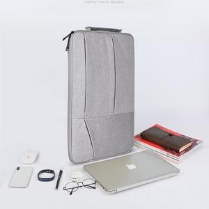 Image 5 - Laptop Bag 14 13 15 inch case Notebook Pouch for Macbook Air 13 Laptop Sleeve Portable Briefcase 15.6 Handbag Bag for Tablet