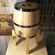 На 3 литра, Дубовая деревянная пивная бочка BT23
