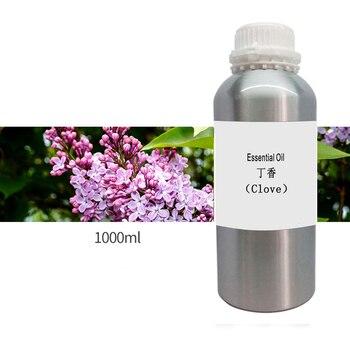 1000 g/ml/botella de hoja de clavo de olor para el cuidado de la piel 100% aceites esenciales de plantas puros Sri clove aceite tratamiento del dolor de cabeza dientes