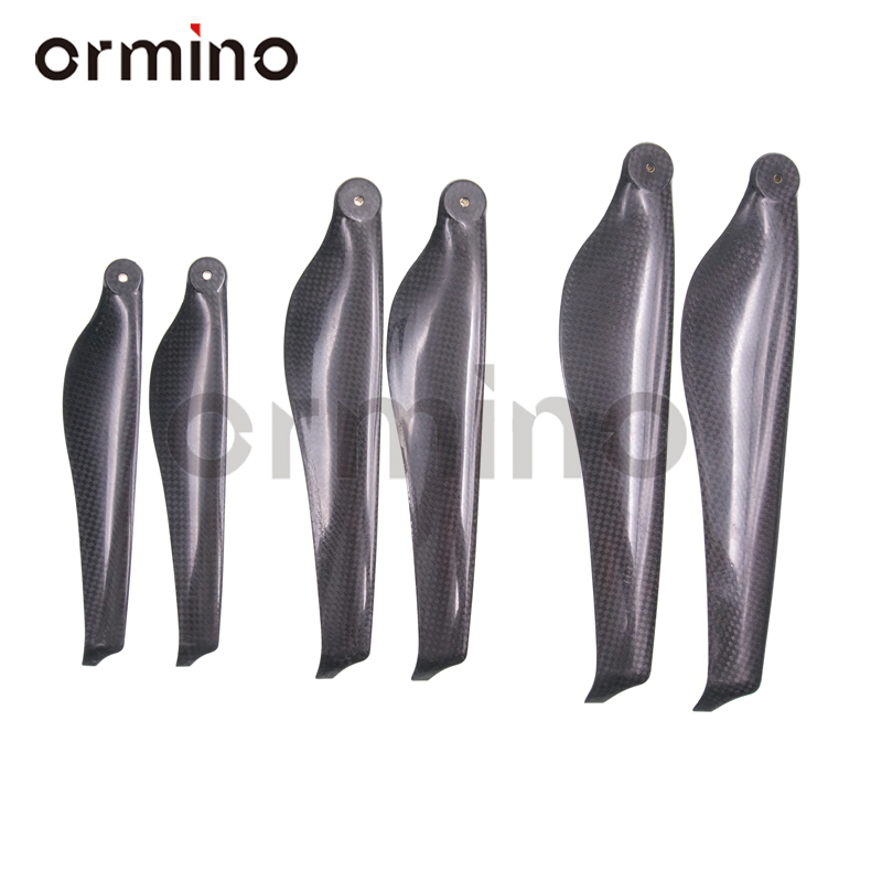 Remote Control Toys Ormino 15 Inch Folding Carbon Fiber Propeller T Style Motor Quadcopter Propeller 18 20 Inch Cw/ccw Uav Rc Drone Multicopter Kit
