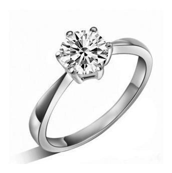 Vysoce kvalitní 2017 Nový módní lesklý zirkon 925 šterlinků stříbrné ženské snubní prsteny velkoobchodní šperky dárek pokles lodní dopravy