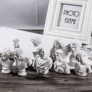 Image 1 - Dainayw 10 pièces croquis Avatar plâtre modèle 5 8CM résine Mini personnage pour décoration croquis pratique modèle Art peinture fournitures