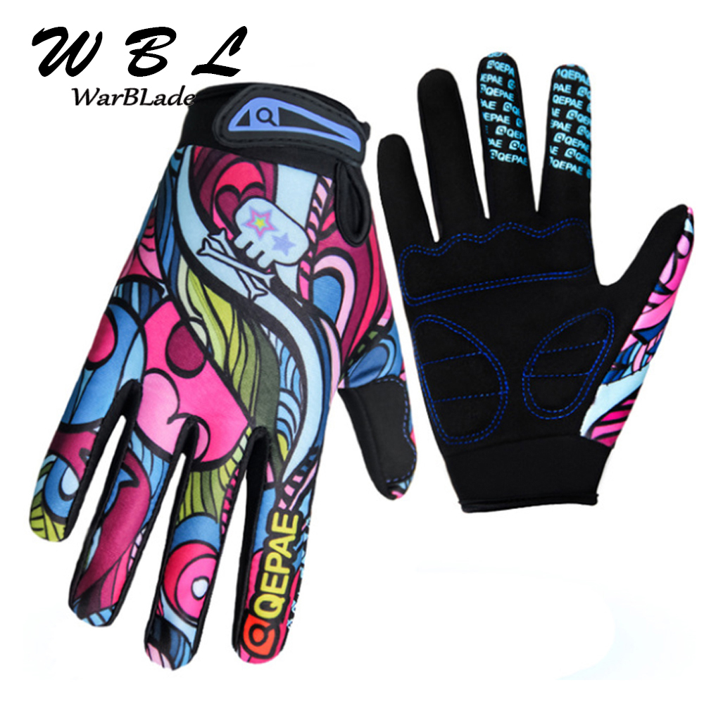 WarBLade Fashion Kiss Screen Gloves Gym Sport Full Finger Gloves For Men Women Fitness Work Out Guantes Mujer 2018