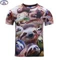 Mr.1991 nuevos adolescentes camiseta para chicos o chicas 3D Koala bebé completo impreso manga corta cuello redondo camiseta grande kids venta caliente A22