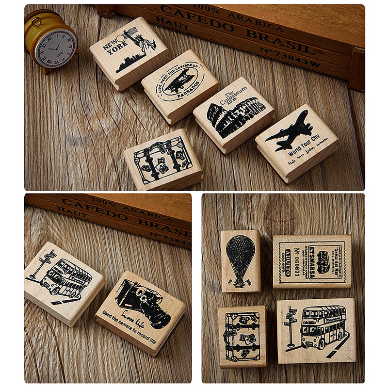 Italy Europe Travel Rubber Stamps wood stamps rubber Stamps rubber-stamp