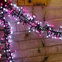 3M 400LEDs Milky Ball Firecracker LED String Light US/EU/UK/AU Plug Rattan Branch Globe Ball Fairy Light For Indoor Decoration