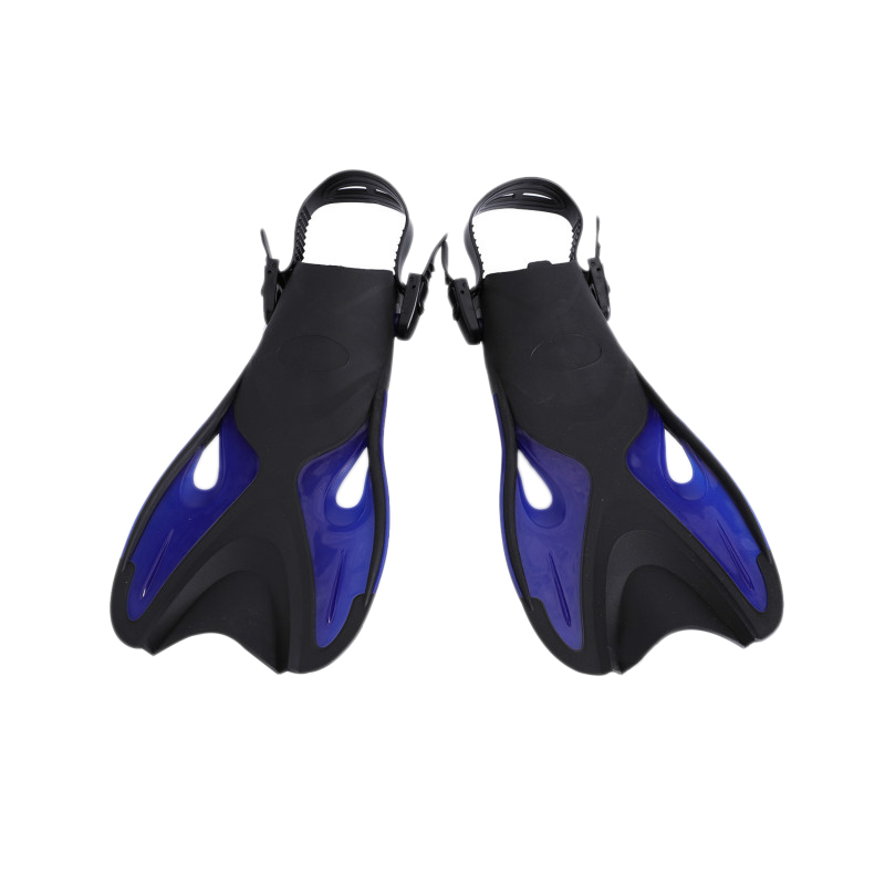 Swimming Fins Adult Snorkeling Foot Flippers Kids Diving Fins Beginner Swimming Equipment Portable Adult & Kids Diving Flipper