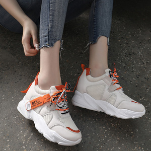 Image 2 - SWYIVY Mesh Ladies Sneakers Fashion Platform Sneakers Women 2020 Summer Shoes Woman Casual Shoes Women Casual Sneaker Breathable