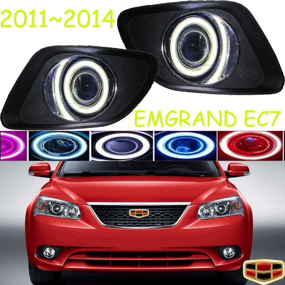 EC7 fog light 2011~2014;Free ship!EC7 daytime light,2ps/set+wire ON/OFF:Halogen/HID XENON+Ballast,EC7 2011 2013 golf6 fog light 2pcs set wire of harness golf6 halogen light 4300k free ship golf6 headlight golf 6