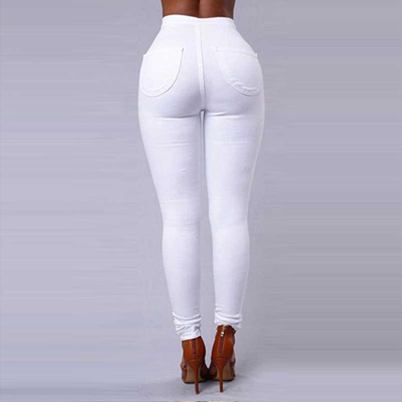 Девушки в белых брюках вид сзади