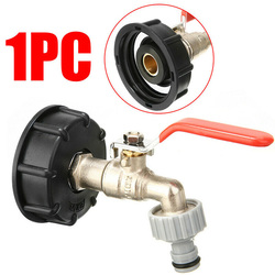 For IBC Container Tank Adapters S60X6 Nozzles Set Kit Replacement Part Tap connector 1/2