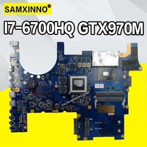 Placa base para ordenador portátil G752VT MB._ 0M I7-6700HQ CPU GTX970M para For Asus G752 G752V G752VM G752VY, placa base para ordenador portátil
