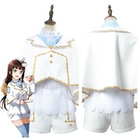 Love Live! Aqours Dia Kurosawa Wonderland Alice Cosplay Costume Women Halloween Costume