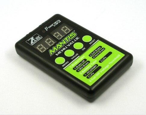 цена на Superior Hobby ZTW Mantis LED programming card for Mantis series ESC