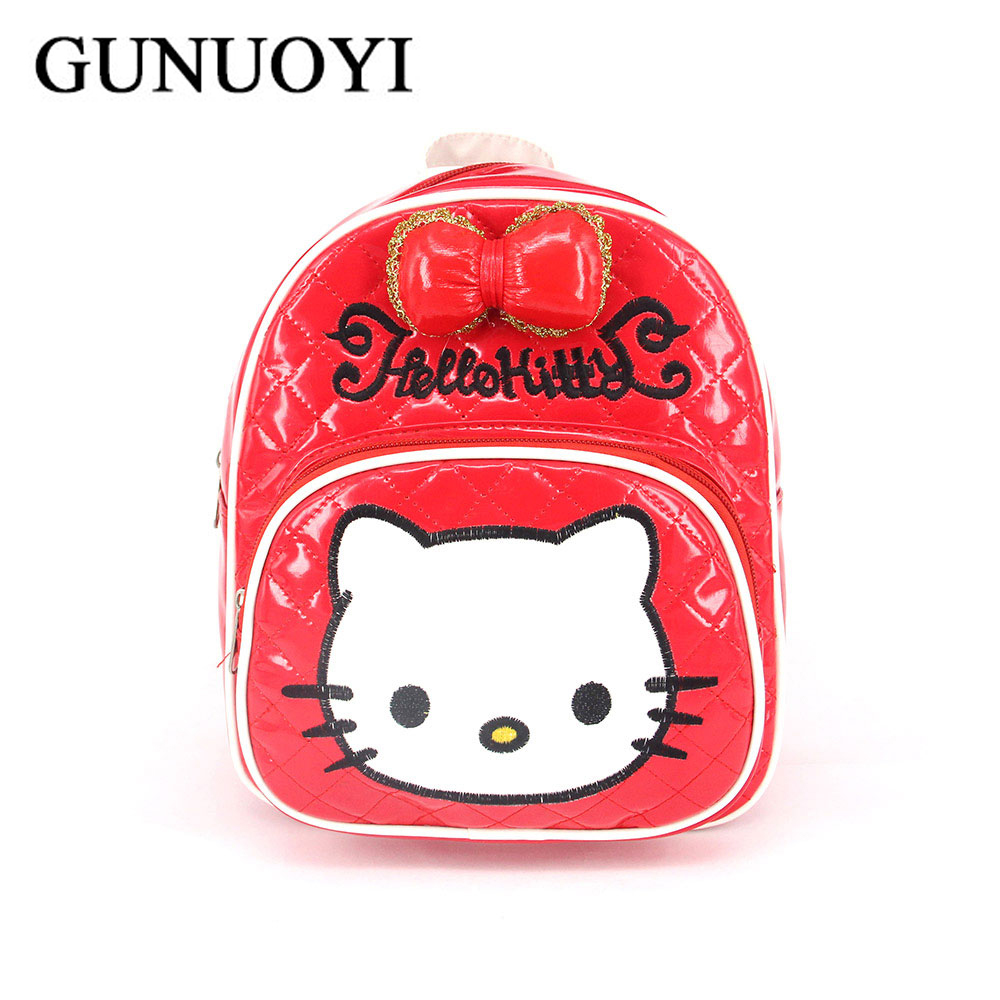 ��gunuoyi new girl backpack �� hello hello kitty cute school