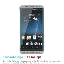 WolfRule 2PCS For Glass ZTE Axon 7 Screen Protector Tempered