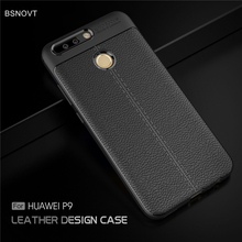 For Huawei P9 Case Shockproof Luxury PU Leather Anti-knock Phone Ascend L09 L19 L29 BSNOVT