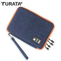 TURATA Storage Case For Ipad Air Pro 9 7 Storage Bag For Ipad Mini Tablet 7