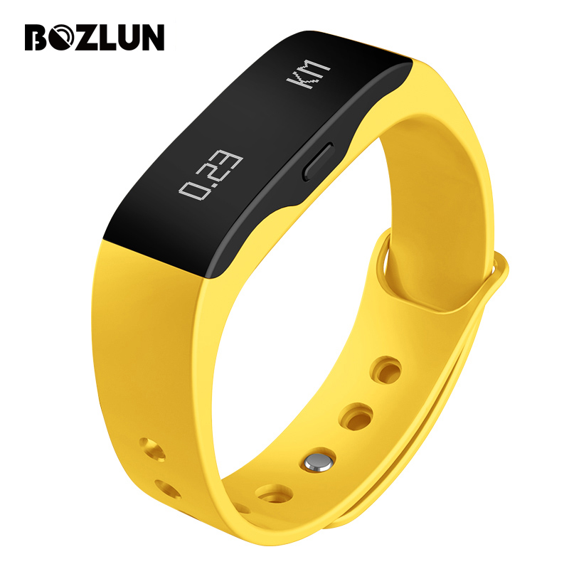 Bozlun Men Women Smart Wristband Bracelet Alarm Call Message Reminder Watches Fashion Casual LED Wristwatches Relogio