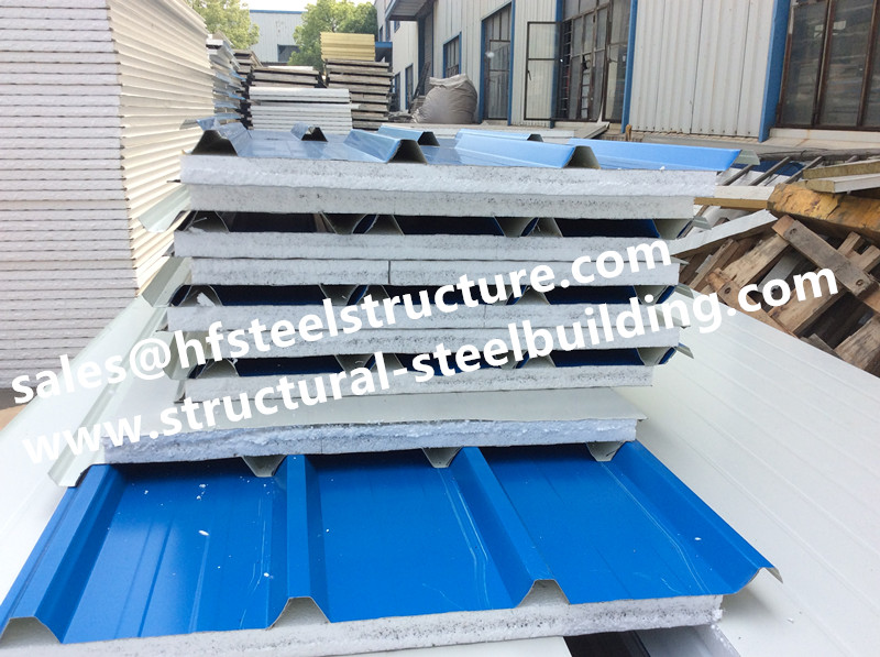 EPS Insulated Sandwich Panel And Cold Room Panel  For Walk In Cold Storage Cold Room Parts For Freezer Unit