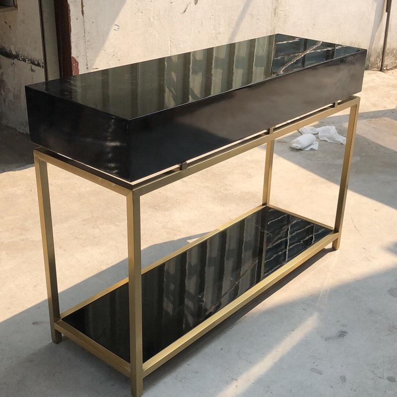 Modern High Gloss Black Lacquer 3