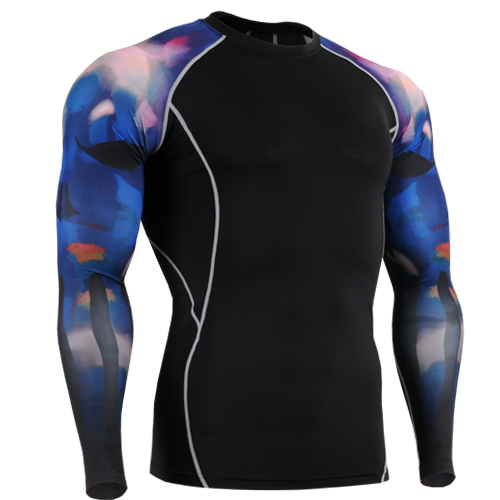 Life on Track men running clothing blue sky printing tops clothes 3d printed clothing for american soccer size s-4xl
