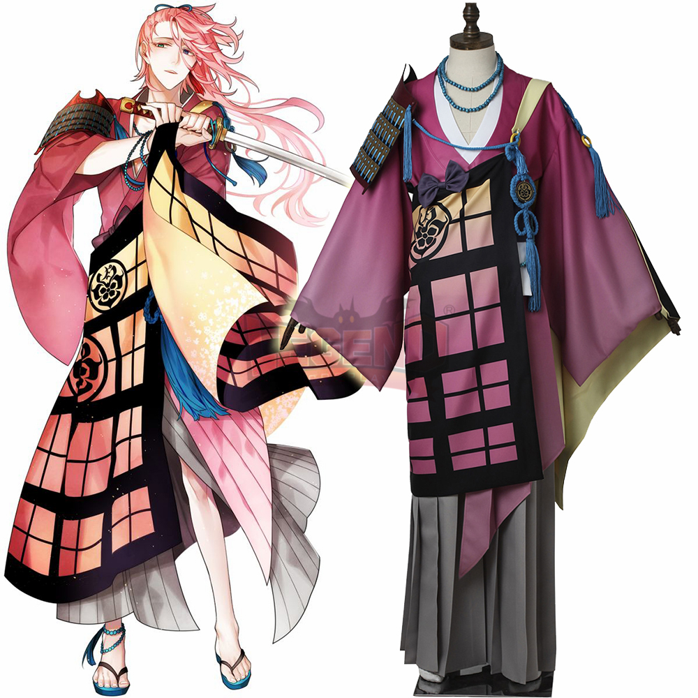 Cosplay legend Touken Ranbu Online Souzasamonji Souza Samonji Cosplay adult costume full set custom made