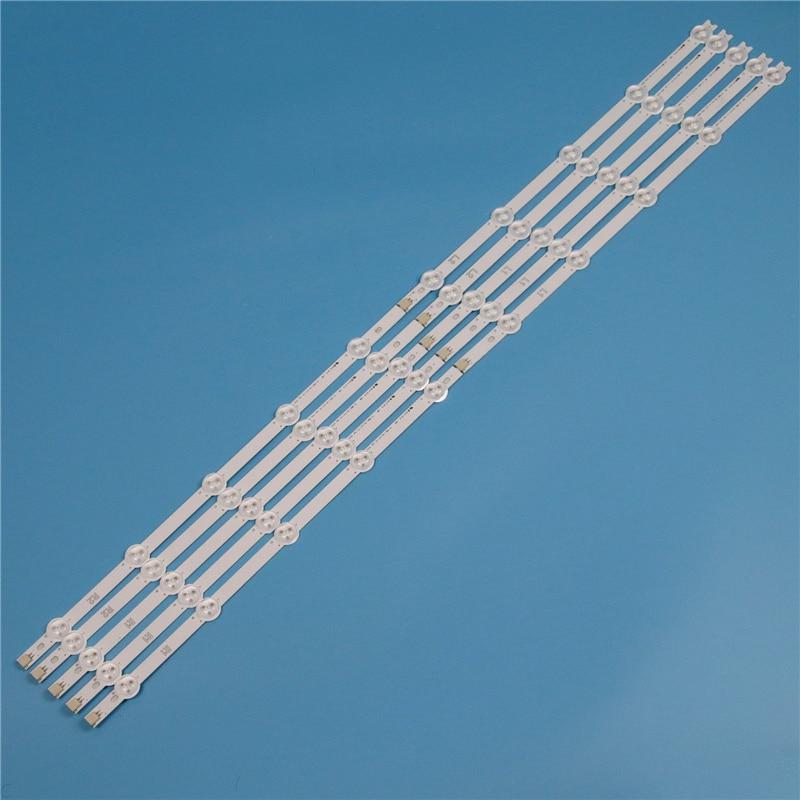 10 Lamp 820mm LED Backlight Strip Kit For LG 42LN549C 42LN549E 42LN549C ZA 42inch TV Array