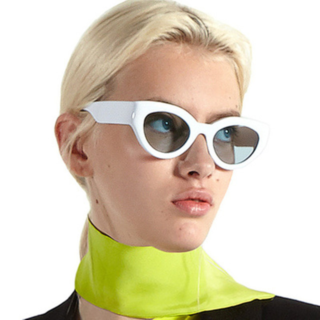 022ed5eea0 2018 Vintage Cat Eye Sunglasses Women Retro Sun Glasses For Woman Cateye  Sunglass Black Female Shades UV400 Oculos
