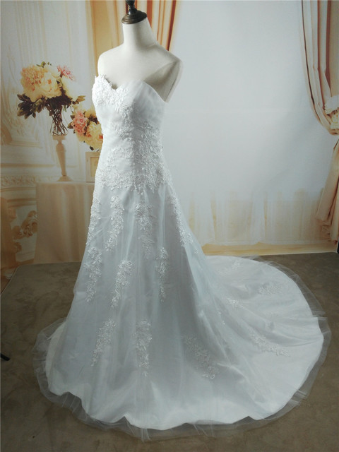 Aliexpress Buy Zj9137 Sexy Dress Princesa Whiteivory Beading