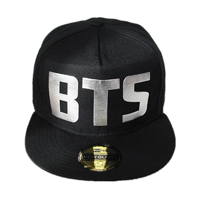 2017 new wholesale k-pop kpop Bulletproof Boy Scouts BTS Bangtan Boys album Summer and Autumn Women  hat Men Baseball caps