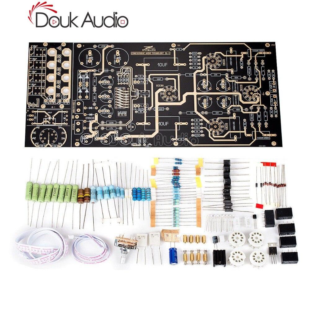 America CAT SL 1 Tube Preamplifier 12AU7/12AX7 Hi Fi Stereo Pre amplifier Board Amplifier     - title=