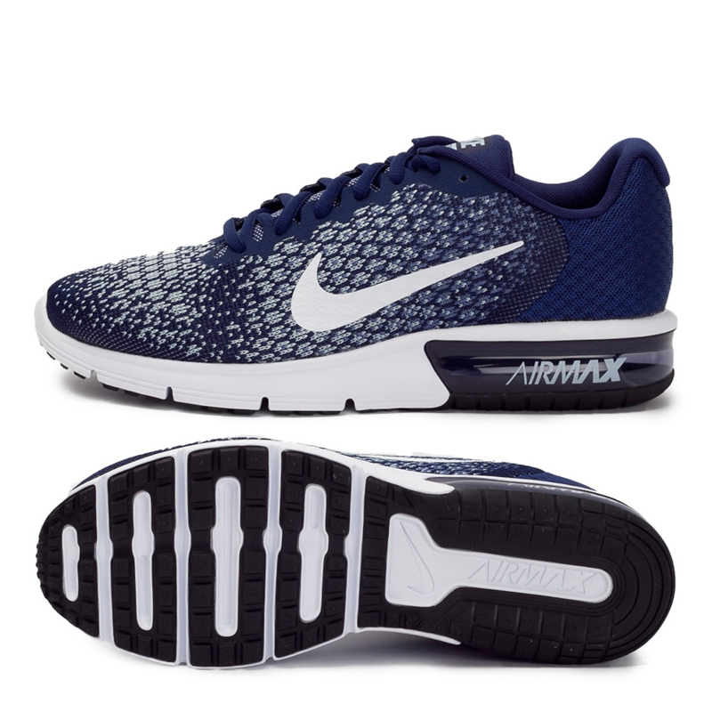 Original New Arrival 17 NIKE AIR MAX SEQUENT 2 Men's Running Shoes Sneakers 30