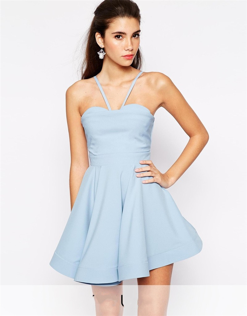 Baby blue short bridesmaid dresses images braidsmaid dress 2015 new hot spaghetti straps baby blue short bridesmaid dresses 2015 new hot spaghetti straps baby ombrellifo Image collections