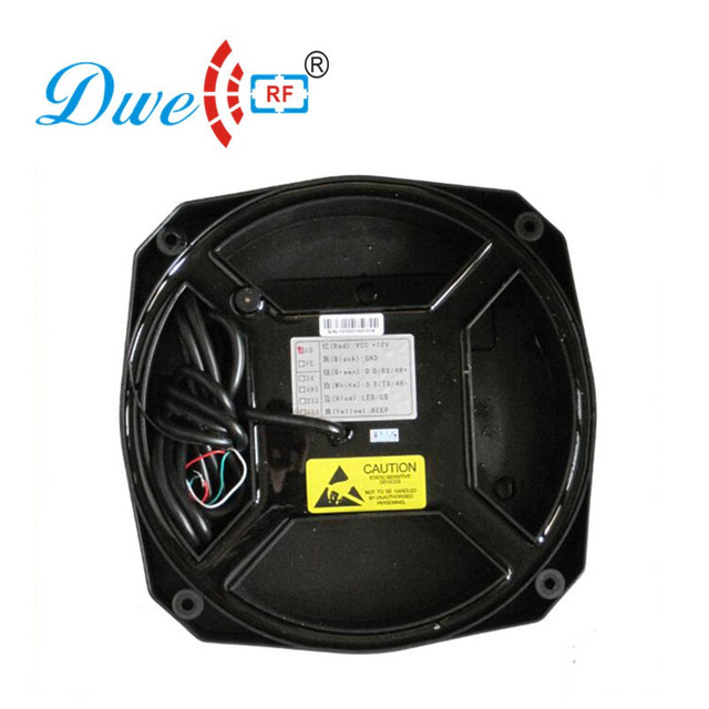 DWE lecteur de cartes CC RE RFID   Classique, noir, étanche, pour la voiture, système de capteurs de stationnement, wiegand 26 ou 34 RS232 001Z