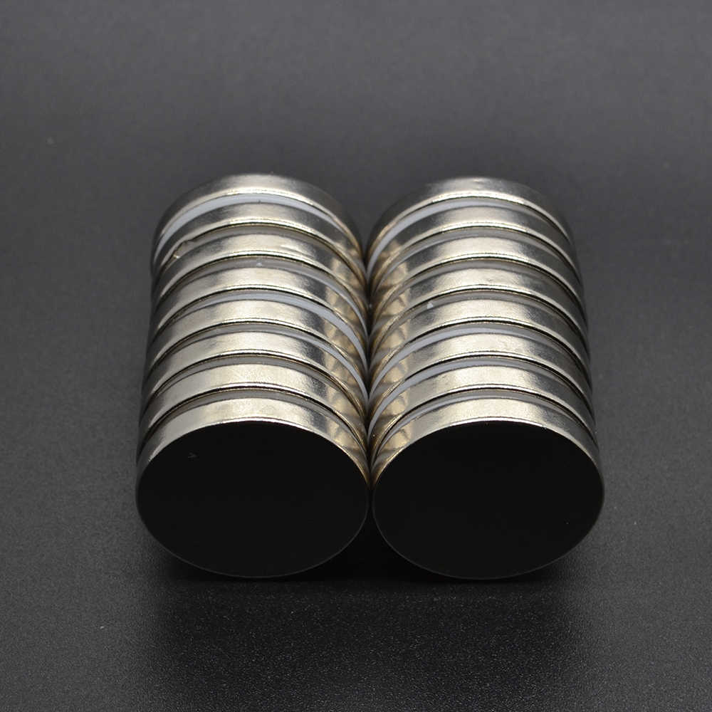 5/10/20 piezas 30x5 imán de neodimio 30mm x 5mm N35 NdFeB redondo Super potente fuerte permanente imanes disco 30x5