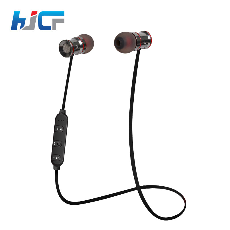 High-End Steelseries HJCF Bluetooth Earphone Stereo With Microphone Super Bass Noise Cancelling Support APT-X HIFI Music HS07 eb203 hifi deep bass wireless stereo bluetooth headphone noise cancelling headset with microphone support tf card fm earphone