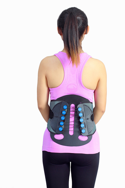 Lumbar Back Spinal Spine Waist Brace Support Belt Corset Stabilizer Cincher Tummy Trimmer Trainer Weight Loss Slimming 1