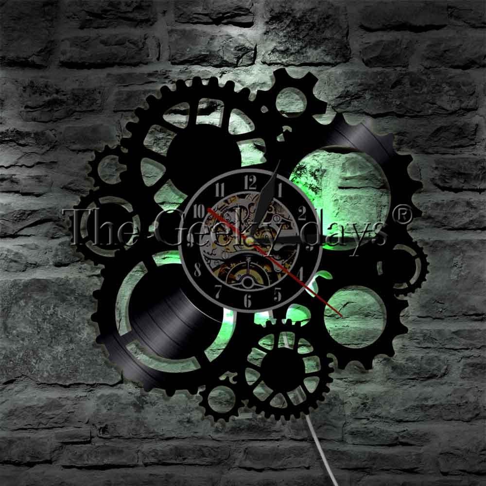Sinal de Engrenagens da engrenagem Relógio Mudança