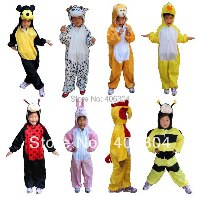 envo libre oso pato rana abeja crocodile mono panda vaca perro lobo cosplay ropa nios