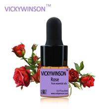 купить Rose essential oil 5ml 100% Natural Essential Oils Moisturize Hydrating Whitening Pure oil massage sex  massage oil по цене 194.74 рублей
