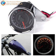 Motorcycle Speedometer Tachometer Odometer Guage Rev Counter 0-13000 RPM Motorbike Parts Accessories