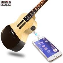 POPUTAR Populele U1 Intelligent APP 23 pouce smart téléphone xiaomi ukulélé Uke pour débutants cadeau Adapterization 4 cordes Guitare