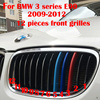 Car Styling Accessories ABS Front Grille Trim Strips Clips Trims Cover Sticker For BMW 3 Series E90 2009-2012