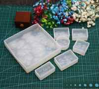 Double One 7pcs/set 3D Water Ripple Cabochon Silicon Mold Mould Epoxy Resin Jewelry Beads Making DIY