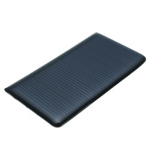 68*36*3mm 5 V 0,3 Watt 60mA DIY Mini Solar Epoxidharz Platte Solarzelle Batterie Solar Panel Ladegerät Led Solar Licht lampe(China)