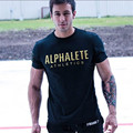 new 2016 fitness cotton brand clothes for men Animal print tracksuit t shirt muscle shirt bodybuilding Tee large XXL