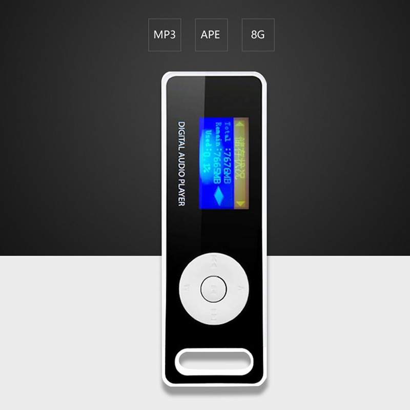 HiFi Fever Lossless MP3 Music Player Sport Music Player FLAC OGG MP3 APE  WMA 8G Memory 1 2'' HD Screen Wi/ E Book Voice Recorder-in MP3 Player from