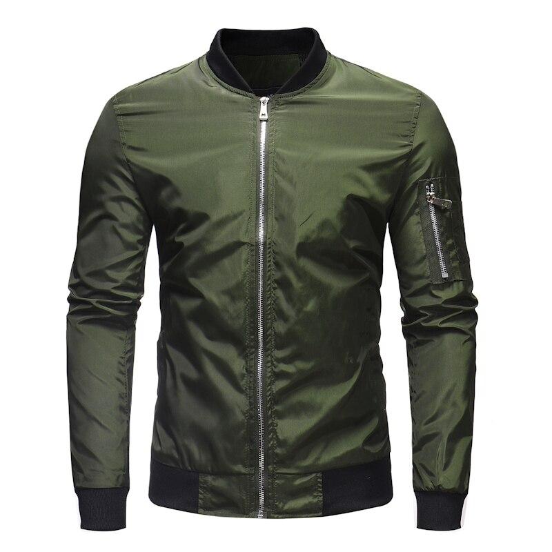 04740ac15 US $29.98 25% OFF Vintage Look Shearling Flying Jackets Padded Nylon Bomber  Jacket Streetwear Mens Sportswear-in Jackets from Men's Clothing on ...