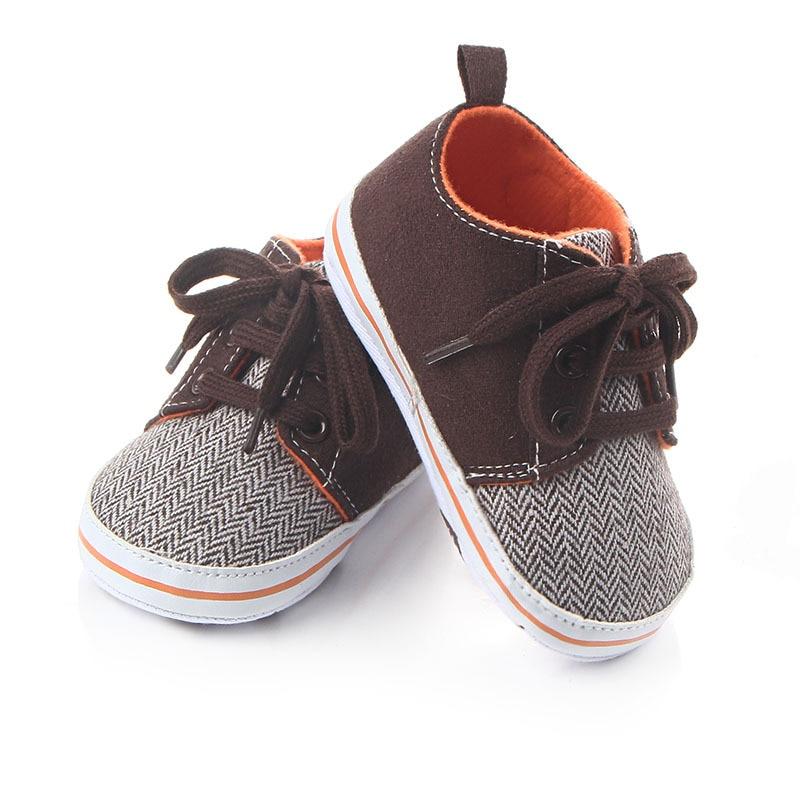 """Naujagimių berniukų batai Vaikiški sportiniai bateliai nėriniai """"Tenis"""" kūdikiams """"First Walker Toddler"""" lovelės batai """"Soft Sole Summer"""" šlepetės vaikams"""